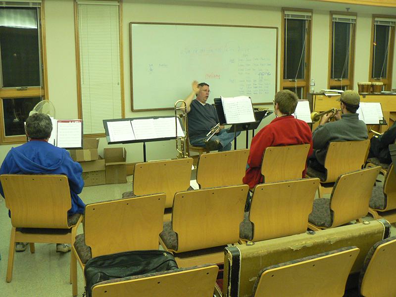 Brass Ensemble Rehearsal